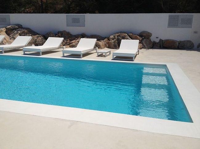 Betonisart cemento pulido para terrazas - Pared cemento pulido ...